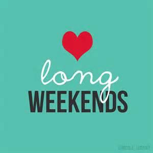 love long weekend