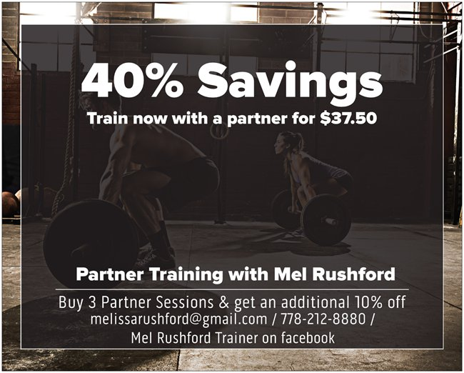 partner training poster